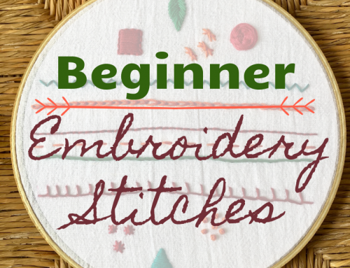 Easy Embroidery Stitch Guide