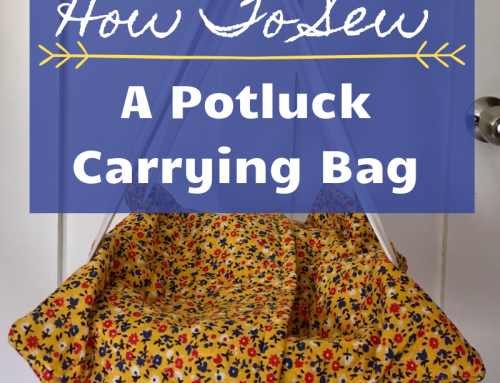 How To Sew A Potluck Carrying Bag