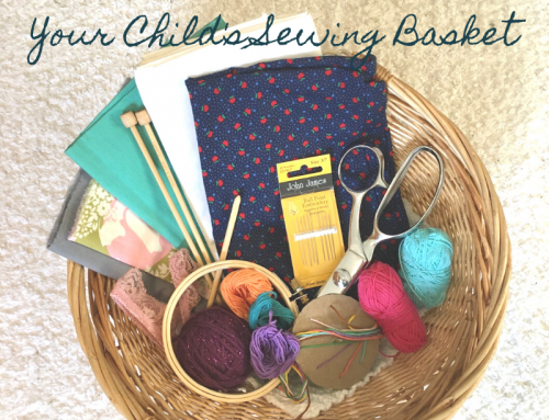 How To Stock Your Child's Sewing Basket
