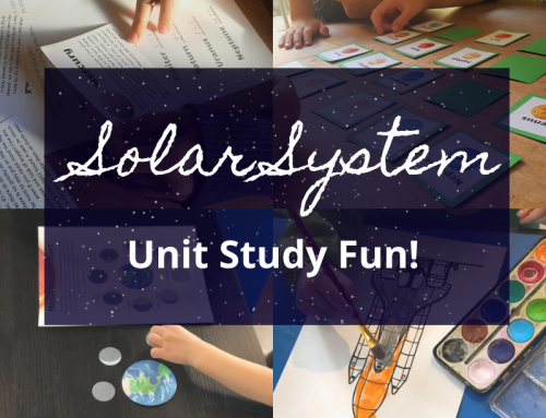 Solar System Unit Study – Fun For Ages 4-9!