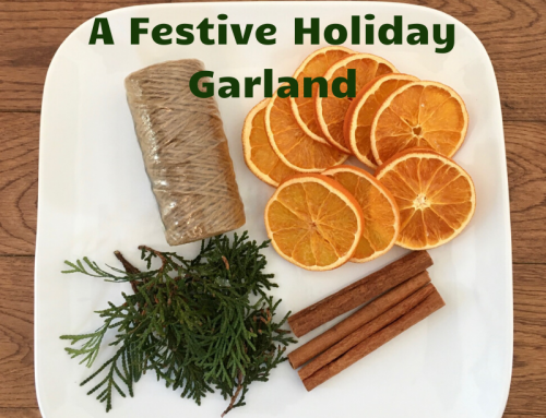How To Make A Festive Holiday Garland
